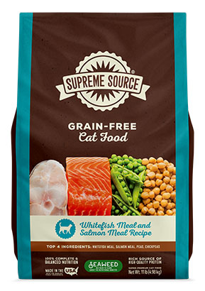 Whitefish Meal & Salmon Meal Recipe Grain-Free Cat Food